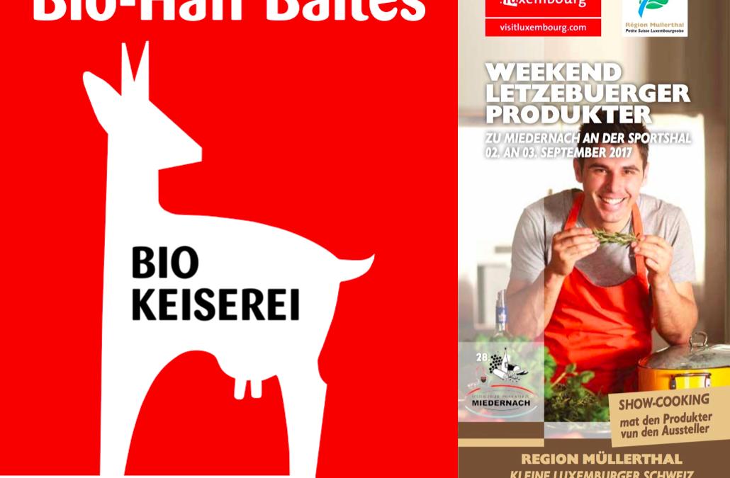 Weekend vun den Lëtzebuerger Produkter